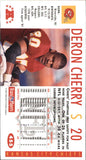 1992 NFL Gameday Deron Cherry Kansas City Chiefs