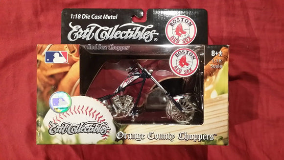 2006 Boston Red Sox Chopper 1:18 Die Cast Metal Ertl Collectibles - JM Collectibles