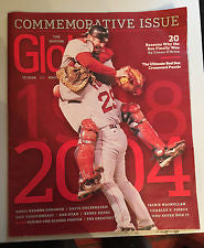 2004 Red Sox Season in a Commemorative Issue of the Boston Globe Magazine - JM Collectibles