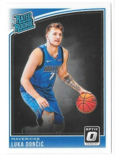 2018-19 Optic Rated Rookie Luka Doncic Dallas Mavericks