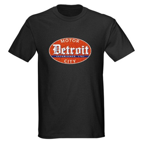 Detriot Smoking Gun Adult Shirt