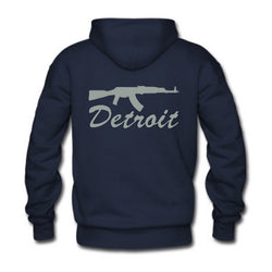 Detriot Smoking Gun Hoodie - Royal Blue