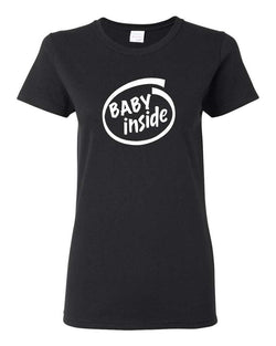Baby Inside - Adult Shirt