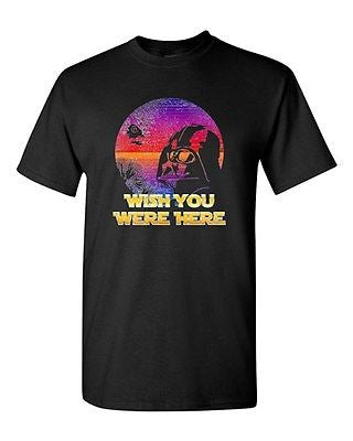 Wish You Were Here TV Movie BeanePod Artworks Art Funny DT Adult T-Shirt Tee