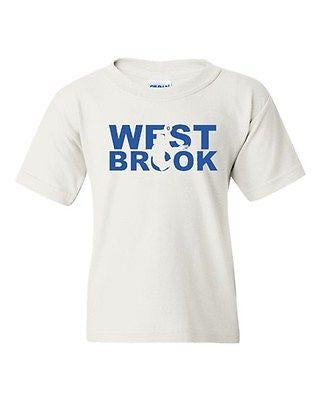 Westbrook Fan Wear Basketball Sports Ball Game Oklahoma Youth Kids T-Shirt Tee