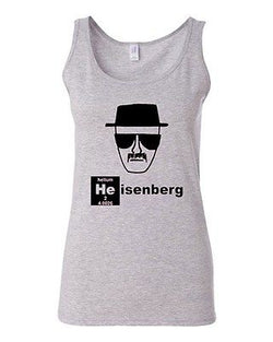 Junior Helium Heisenberg Caricature Breaking Bad Graphic Humor Novelty Tank Top