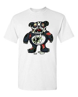 Zombie Panda Undead Animals Devil Monster Horror Adult DT T-Shirt Tee