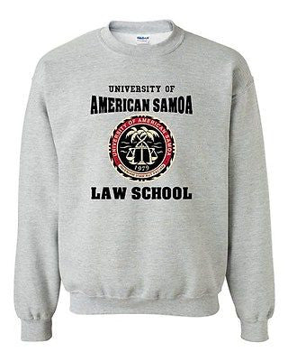 University Of American Samoa Law School Samoan Students DT Crewneck Sweatshirt
