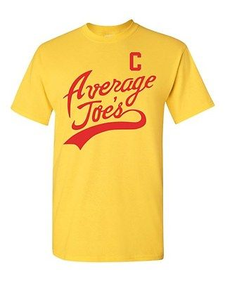 Average Joe's Movie Costume Dodge ball Halloween Novelty Adult DT T-Shirt Tee