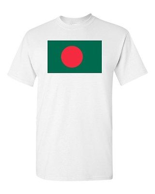Bangladesh Country Flag Dhaka Nation Patriotic Novelty DT Adult T-Shirt Tee