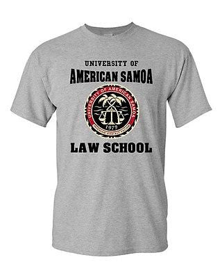 University Of American Samoa Law School Samoan Students DT Adult T-Shirt Tee