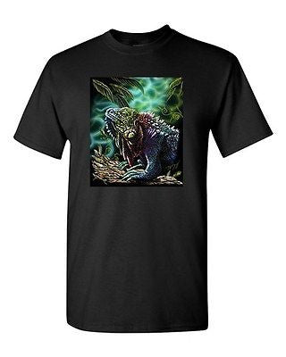 Lizard Reptile Chameleon Animal Tanya Ramsey Artworks Art DT Adult T-Shirts Tee
