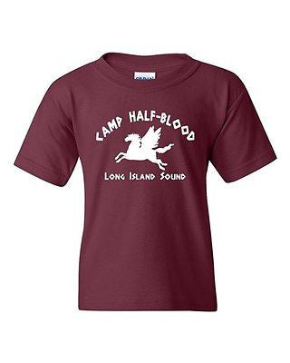 Camp Half Blood Novelty Youth Kids T-Shirt Tee