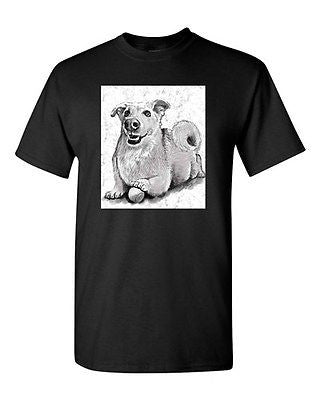 Cute Puppy Dog Lover Animal Tanya Ramsey Artworks Art DT Adult T-Shirts Tee