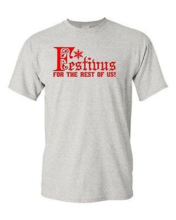 Adult Festivus For The Rest Of Us Funny Humor Parody Christmas T-Shirt Tee