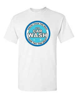Adult A1A Car Wash Heisenberg DT Breaking Bad Funny Humor Parody T-Shirt Tee