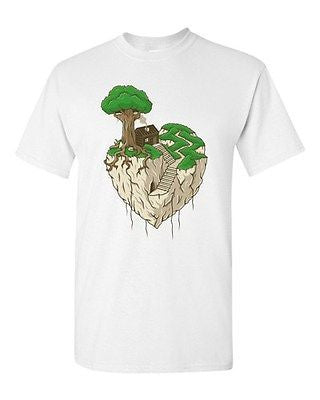 Lonely Heart Gege Artworks Clever Art Home Nature Funny DT Adult T-Shirt Tee