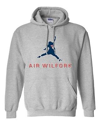 Air Wilfork New England Football Parody Game Sports Fan DT Sweatshirt Hoodie