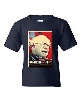 Bernie Sanders 2016 Election President Vote Politics DT Youth Kids T-Shirt Tee