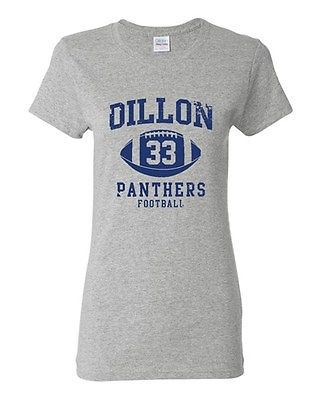 Ladies Dillon Football Retro Sports Players Ball Novelty DT T-Shirt Tee