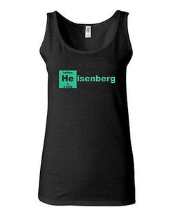 Junior Heisenberg Element Helium Breaking Bad Graphic Humor Novelty Tank Top