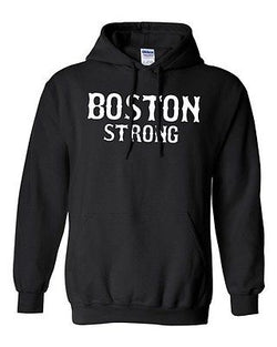 Adult Boston Strong City Marathon City Survivor Hoodie Sweat Sweatshirt