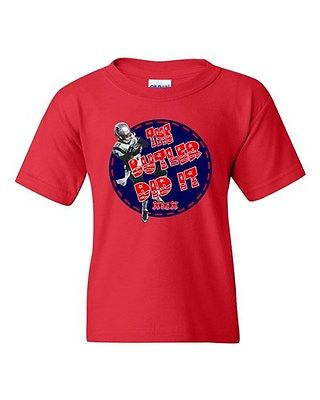 Butler Did It New England Football Champions Sports DT Youth Kids T-Shirt Tee