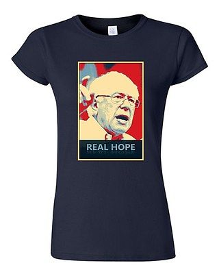 Junior Real Hope Bernie Sanders 2016 Election President Politics DT T-Shirt Tee