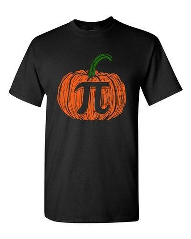 Pi Pumpkin Halloween Trick Or Treat Funny Parody Costume DT Adult T-Shirt Tee