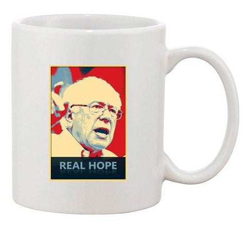Real Hope Sanders Bernie 2016 Election President DT Ceramic White Coffee Mug