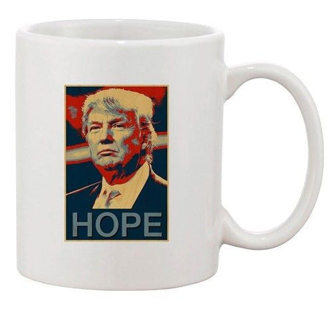 Republican GOP Candidate Hope 2016 Vote President DT Ceramic White Coffee Mug