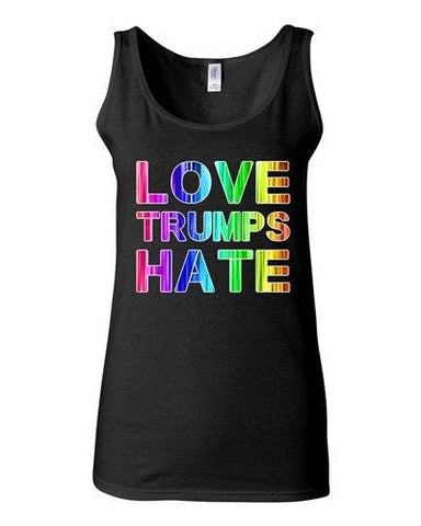 Junior Love Trumps Hate For President 2016 Election Campaign Sleeveless Tank Top