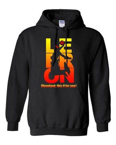 New This Is For You Lebron 23 Cleveland Sports Basketball DT Sweatshirt Hoodie