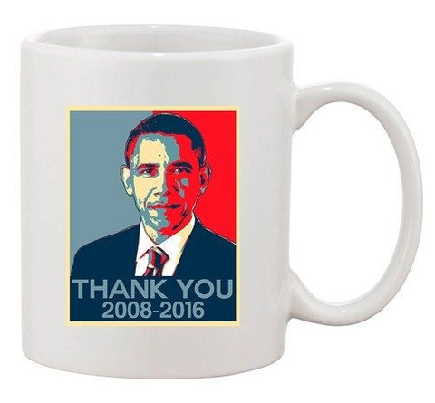 New Thank You President Barack Obama United States America DT Coffee 11 Oz Mug