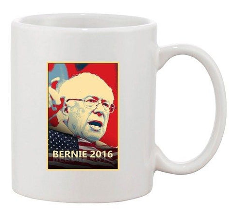 Bernie Sanders 2016 Election President Political DT Ceramic White Coffee Mug
