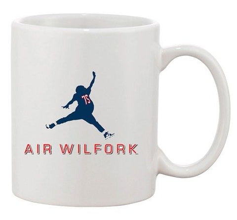 Air Wilfork New England Football Parody Game Sports Fan DT White Coffee Mug