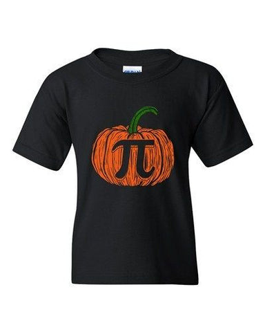 Pi Pumpkin Halloween Funny Parody Costume DT Youth Kids T-Shirt Tee