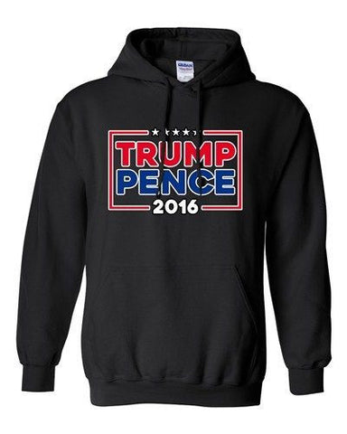 Trump Pence 2016 Vote USA America Campaign Election (B) DT Sweatshirt Hoodie