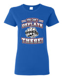 You Can't Deflate These World Champion New England Football DT Adult T-Shirt Tee