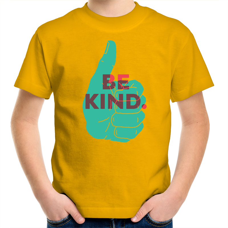Be Kind Kids Youth Crew Tee