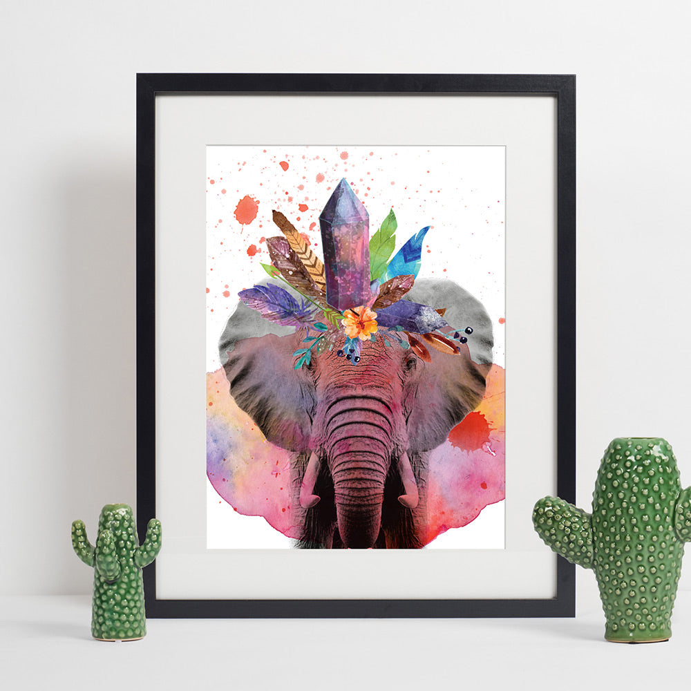 Colours of the Wild - Elephant