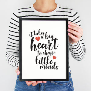 Little Minds Print