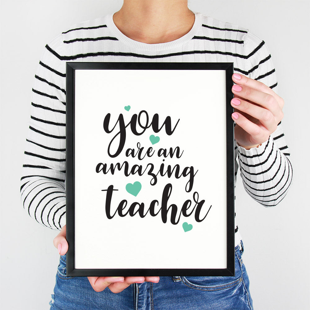 Amazing Teacher A3 Print