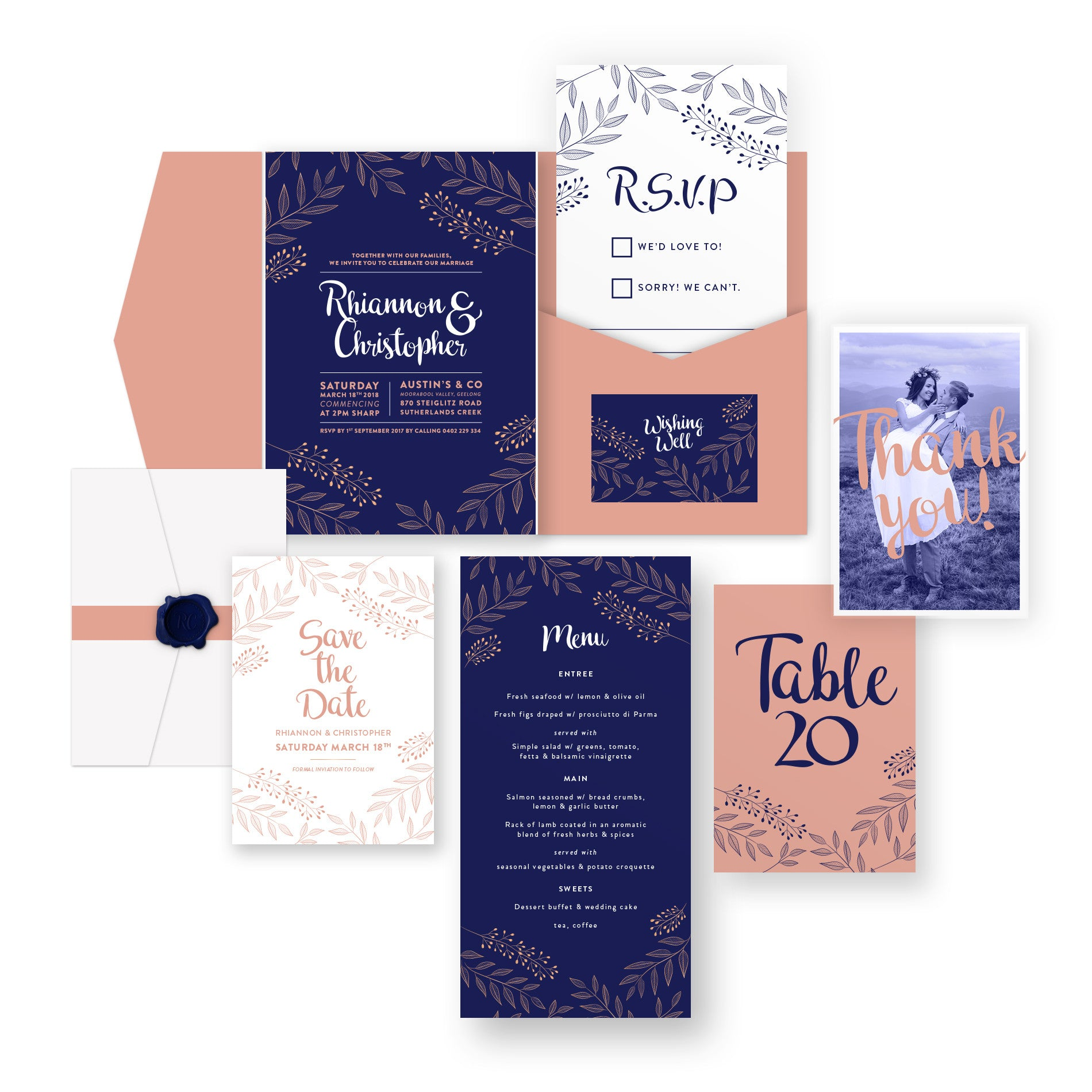 Limelight wedding stationery package bespokey doke limelight wedding stationery package junglespirit Choice Image