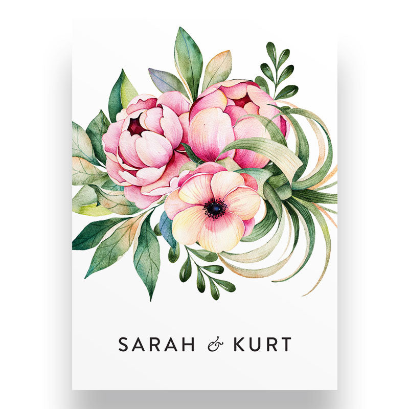 Proteas Wedding Stationery Package