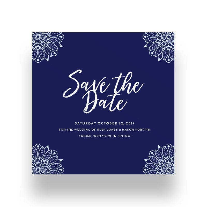Bluebell Save the Date