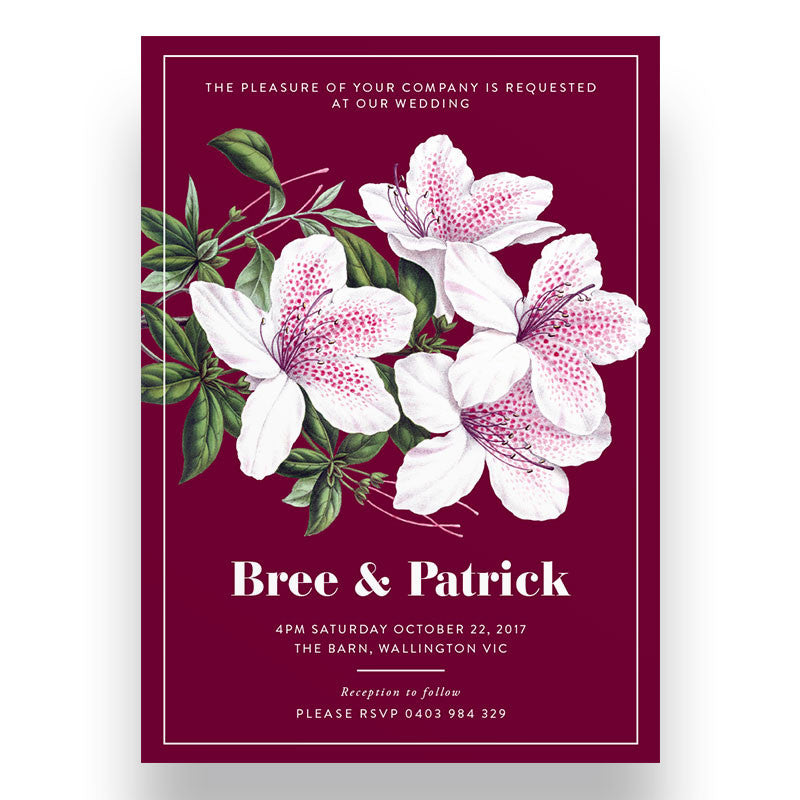 Beatrice Wedding Invitation