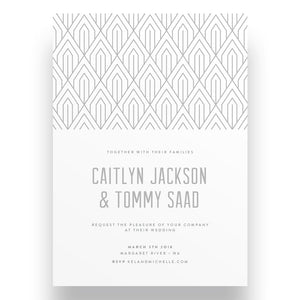 Arteco Wedding Invitation