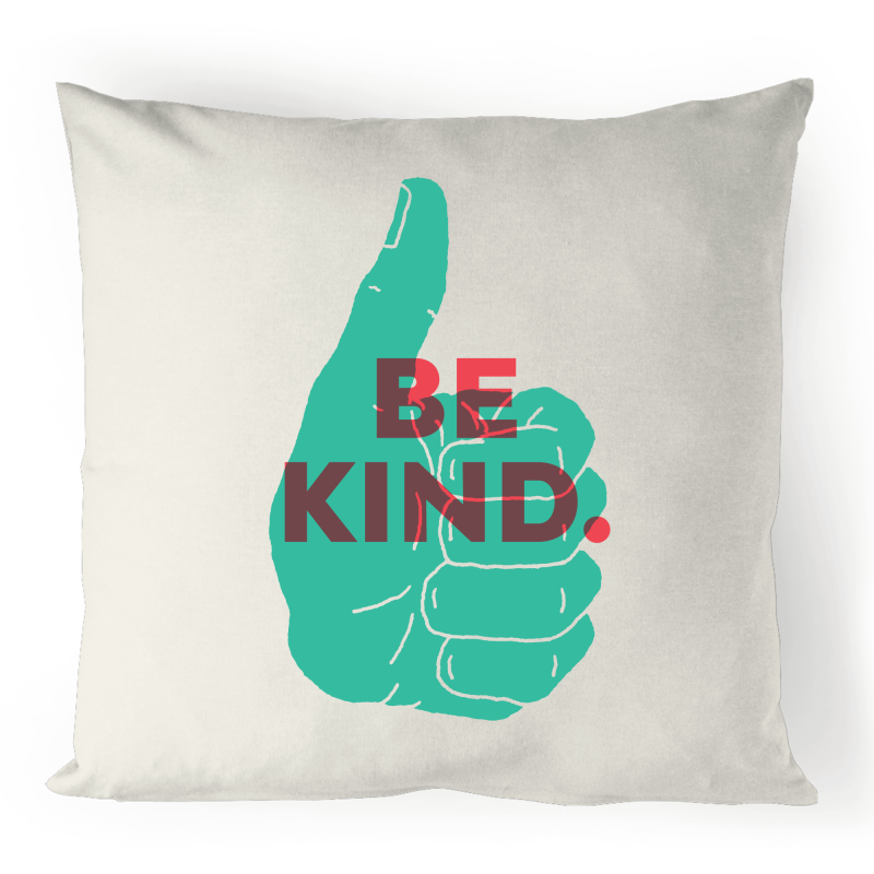 Be Kind 100% Linen Cushion Cover