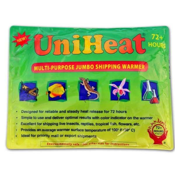 72 Hour Heat Pack <br> (Required For Cold Shipping)